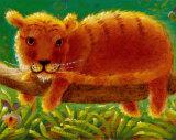 Tiger Kunstdruck von Christopher Gunson