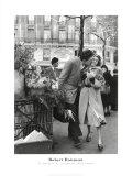 Ramo de narcisos Pósters por Robert Doisneau