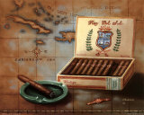Cigar Box II Poster by Judith Gibson