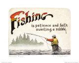 Fishing, Angler's Faith Prints by Geof Markovich