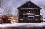 General Store Print by David Knowlton