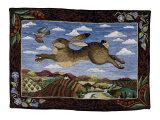 Der fliegende Hase Kunstdrucke von Jan Gassner