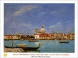 Venice/santa Maria Della Salute From... Posters by Eug&#232;ne Boudin