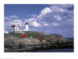 Cape Neddick Light Poster av William Neill