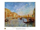 Grand Canal Venice Plakat af Pierre-Auguste Renoir