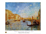 Grand Canal Venice Prints by Pierre-Auguste Renoir