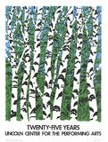 Birches Reproduction pour collectionneur par Neil Welliver