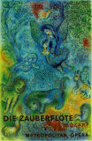 The Magic Flute (Die Zauberflote) Collectable Print by Marc Chagall
