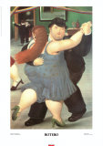 Bailarines Psters por Fernando Botero