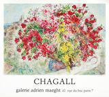 Jardins de St.Paul, 1973 Verzamelposters van Marc Chagall