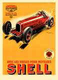 Shell, 1934 Prints by Geo Ham