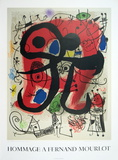 Le Lezard Aux Plumes D'or Serigraph by Joan Miro