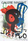 Sobreteixims, 1973 Collectable Print by Joan Miró
