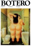 Bad, på italiensk Kunst af Fernando Botero