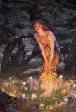 Víspera del solsticio de verano, c.1908 Póster por Edward Robert Hughes