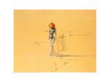 花の頭の女, 1937 アート : サルバドール・ダリ
