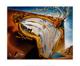 Melting Watch Prints by Salvador Dalí