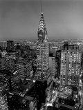 New York, New York - Chrysler Building Poster von William Van Alen