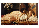 Mother and Child Prints by Frederick Leighton