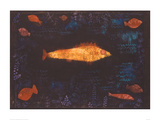 The Golden Fish, c.1925 Posters by Paul Klee