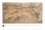 Sherman Booth House Prints by Frank Lloyd Wright