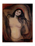 Madonna, c.1895 Giclee Print by Edvard Munch