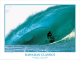 Banzai Pipeline, Hawaii Prints by Woody Woodworth