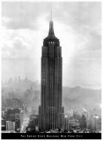 Empire State Building, New York Posters