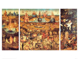 The Garden of Earthly Delights, c.1504 Print by Hieronymus Bosch