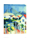 St. Germain Near Tunis Posters by Auguste Macke