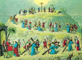 The Crucifixion of Christ Print
