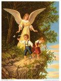 Heilige Schutzengel Plakaty