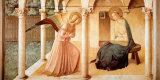 Saint Malet Plakat af Fra Angelico