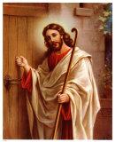 Anklopfender Christus Posters
