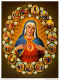 Leben der Heiligen Jungfrau Posters