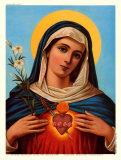 Marias hellige hjerte Posters