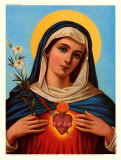 Sacred Heart of Mary Posters
