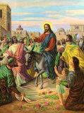 Jesus in Jerusalem Posters