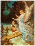 Heilige Schutzengel Plakat