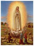 Mutter Gottes von Fatima Posters