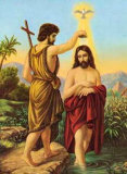Taufe Christi Posters