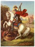 Heilige Georg Poster