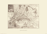 Map of Virginia Poster by Capt. John Smith