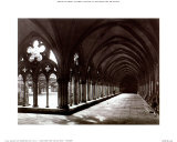 English Cathedral, Salisbury Cloisters Posters by Sally Maltby