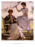 Sunshine and Shadow Prints by Frank Weston Benson
