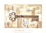 Key to the Country Prints by Jane Claire