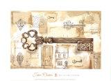 La llave del campo Pósters por Jane Claire