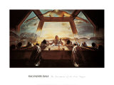 The Sacrament of the Last Supper, c.1955 Print by Salvador Dalí