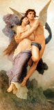 Ravissement de Psyche Poster by William Adolphe Bouguereau