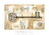 La llave de la ciudad Pósters por Jane Claire